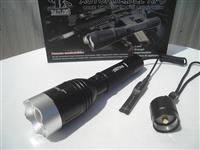 Taktički set Bat.lampa Police 10000W