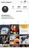 Instagram stranica 2800 followera