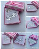 Srebrne ogrlice sa imenom