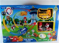 Paw patrol swing train