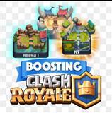 bust clash royal accaunta