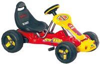 Formula go kart na pedale