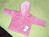 Roze jaknica za bebe devojcice