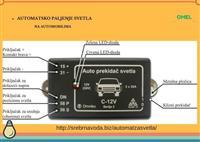 Automatski prekidac za svetlo na automobilima