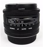 Objektiv sigma AF EF super wide II za Sony 24mm 2.