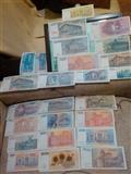 Razne stare papirne novcanice