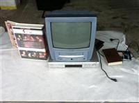 TV sa ugradjenim videom i dvd u kompletu
