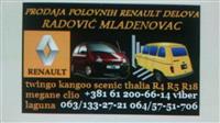 Polovni Delovi za Renault Vozila