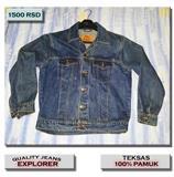 TEKSAS JAKNA - Explorer Quality Jeans - Pamucna!