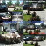 Izrada fontana,zalivni sistem za travnjake