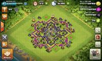 Clash of Clans nalog 67 lvl th 8