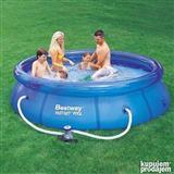Nadzemni bazen na naduvavanje Bestway FastSet 305x