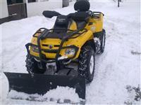 Raonik za sneg za ATV