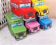 Autobus Deciji tabure sa korpom za odlaganje igri