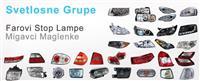 Svetlosna oprema za sve vrste automobila, NOVO