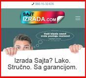 Ne propustite Izrada web sajtova SA GARANCIJOM