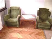 Stilski stocic, fotelje i tabureti