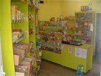 Enterijer za prodavnicu rinfuzne rob