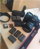 Canon EOS 50D sa pratecom opremom