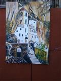 Slika na platnu 80*60 Ostrog