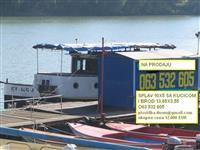 Prodaje se brod i splav