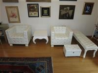 Set fotelja,  sto i klupa