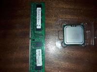 Procesor intel E-5700 + 1gb ram ddr 2