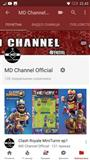 Youtube channel(128sub) Clash Royale Account