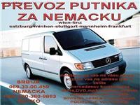 Prevoz putnika za Nemacku - Sombor