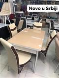 Novi model stola i stolice