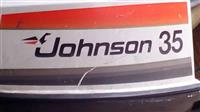 Ванбродски мотор Јоhnson 35