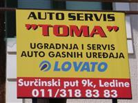 Auto gas servis Toma