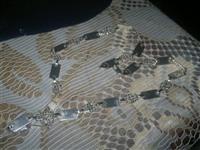 Prelepa Srebrna ogrlica