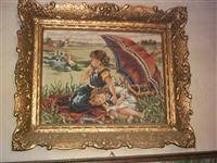 Vilerov Goblen Dve devojcice