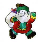 """Ukras za prozor """"Deda Mraz"""" KID313"""