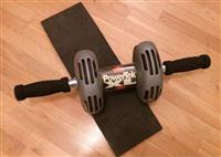 PowerTek-XL Ab-Wheel-Roller Workout