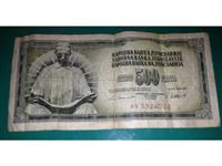 Papirna novčanica od 500 dinara, 1978 i 1981, VG