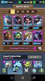 Clash Royale ACC arena 10, 7 legy 200+ gema
