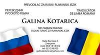 prevodilac,sudski tumac-rumuski,ruski jezik