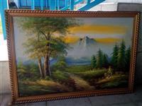 2 umetnicke slike priroda