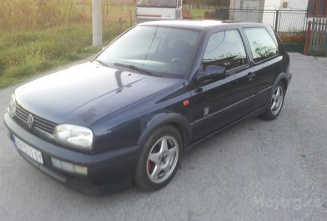 VW Golf 3 Gti 92