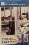 Usluge servisa,popravke PVC prozora i vrata