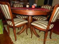 Masivan trpezarijski sto i stolice - puno drv