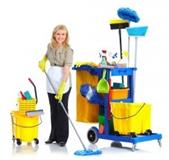 Čistačice i čistači u sportskom centru