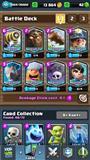 Clash Royale Acc full legendari deck