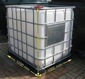 Cisterne od 1000L i metalna burad 220L