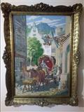 Original Vilerov goblen - Svadbena kocija HITNO