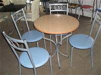 Metalne tapacirane stolice