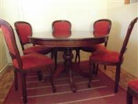 Trpezarijski stolovi Braon