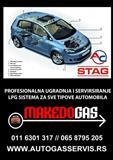 Ugradnja auto gasa - Ugradnja plina